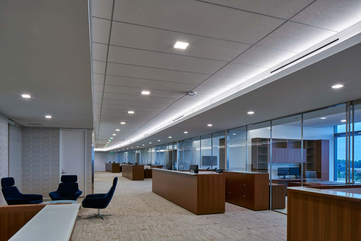corporate office lobby. Hedrick-kirco-properties-portfolio-dow-chemical-img-16.jpg Corporate Office Lobby