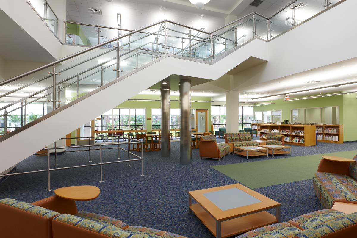 Palm beach state college library learning center hedrick - Palm beach gardens community center ...
